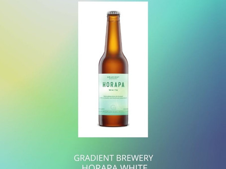 Aug27本地啤酒介紹 Gradient Brewery HORAPA White ABV: 5%
