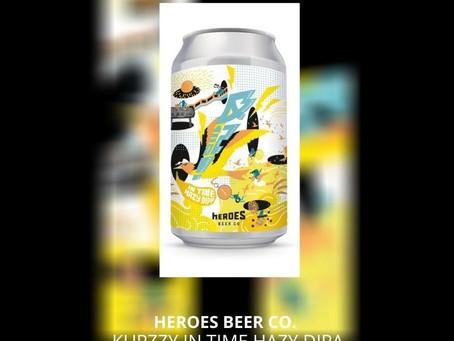 Aug27本地啤酒介紹 Heroes Beer Co. KUPZZY In Time Hazy DIPA ABV: 4.6%