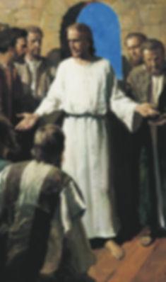 Христос след възкресението си