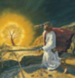 Моисей при неизгаряща къпина