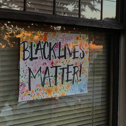 What BLM Signs Mean to People Who Put Them Up