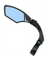 Hafny Bike Mirror, Handlebar Bike Mirror, Speed Pedelec Mirror, Cycle Mirror, E-bike Mirror, Bicycle Mirror, HF-MR095LB