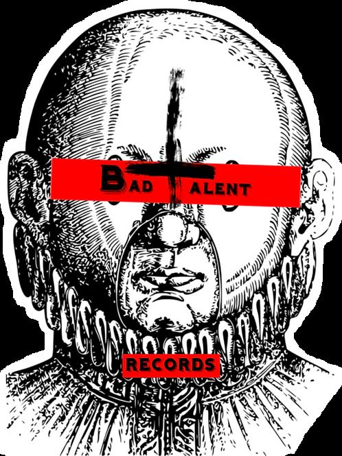 Bad Talent LogoVinyl Sticker