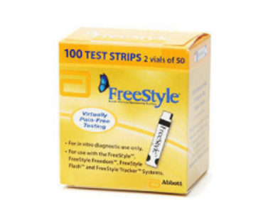 FREESTYLE  TEST STRIPS - 100 CT