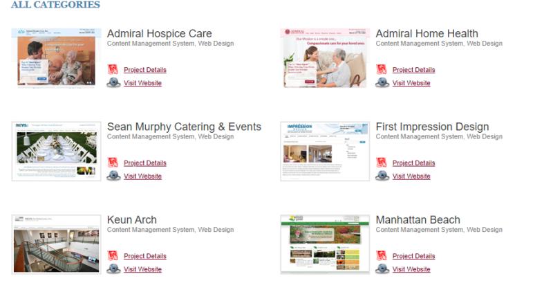 my web design source portfolio