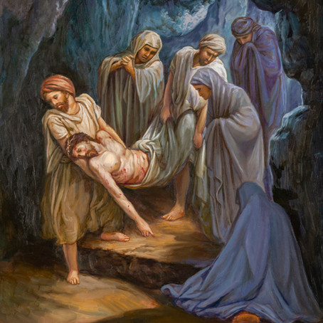 The Burial ( John 19:40-42 )
