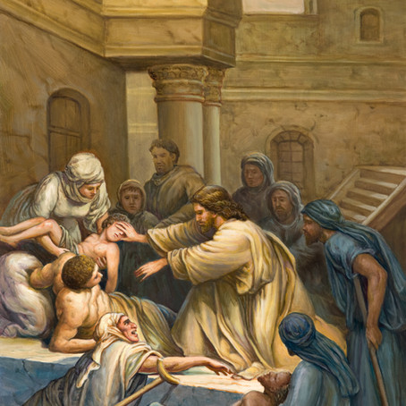 Healer ( Matthew 12:13-16 & 15:30-31 )