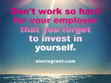 Why (and How) You Should Invest In Yourself, Not Just Your Employer