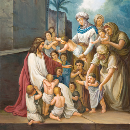Children ( Mark 10:13-16 )