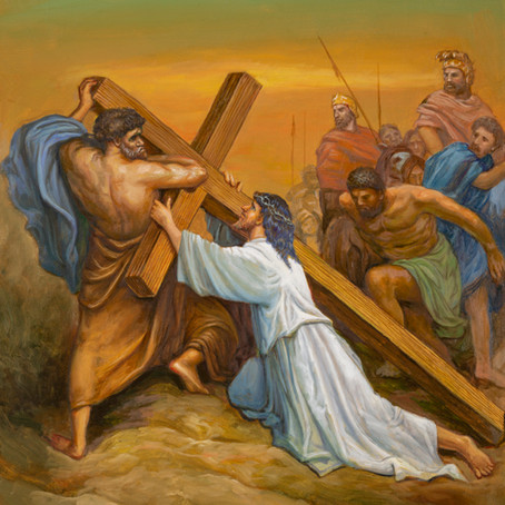 Bearing The Cross ( Mark 15:20-22  )