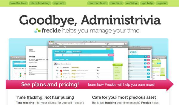 letsfreckle 18 Effective Time Management Tools