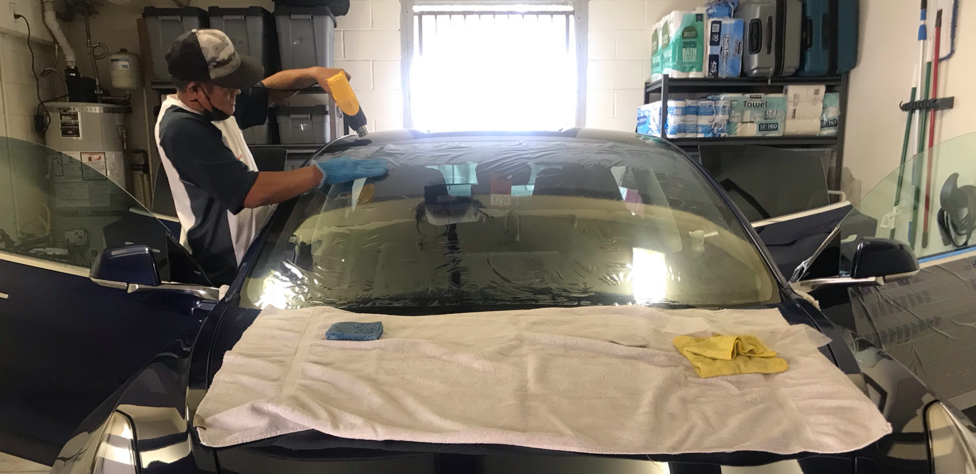 vehicle window film