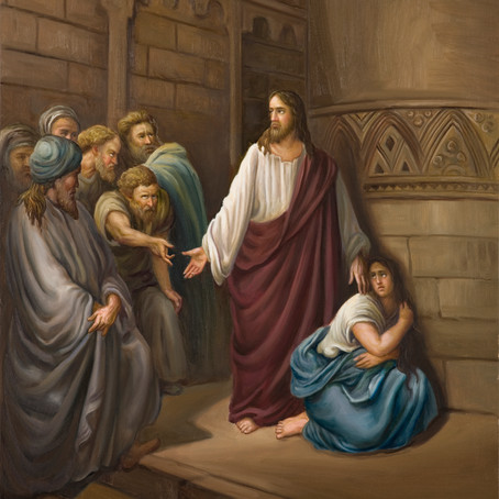 Adulterous Woman ( John 8:3-12 )