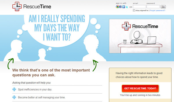 rescuetime 18 Effective Time Management Tools