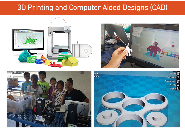 3D Printing and Design ( CAD )