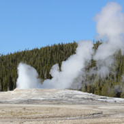 Old Faithful stage two.
