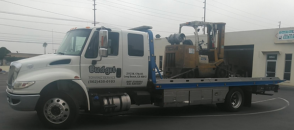 forklift tow truck service in long beach