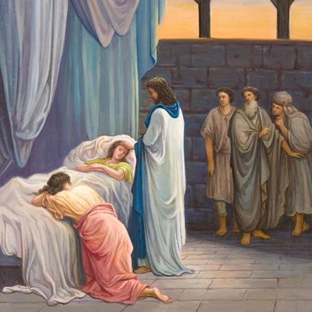 Daughter of Jairus ( Luke 8:49-56; Luke 9:1-2 )