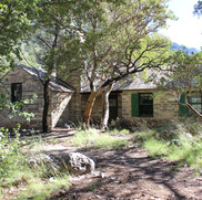 Pratt Cabin on the McKittrick Canyon trail.
