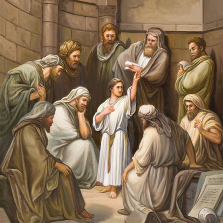 Young Jesus ( Luke 2:42-50 )