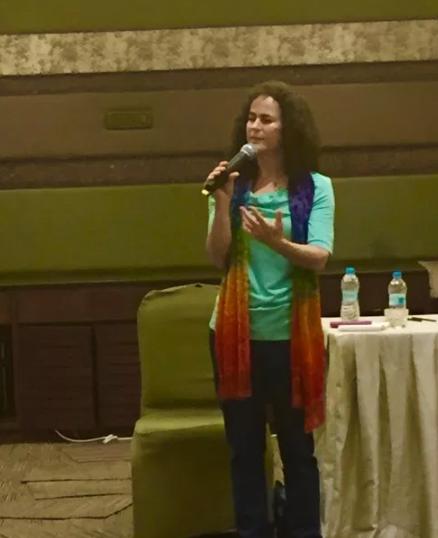Maia Kincaid Mumbai, India Teaching Animal Communication 2016.png