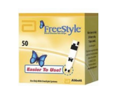 FREESTYLE TEST STRIPS - 50 CT