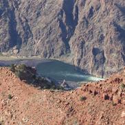 Colorado River with rapids