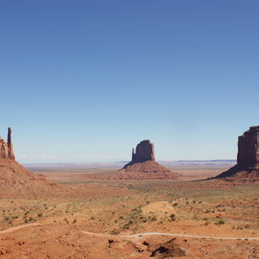 The folowing are photos of Buttes and Mesas