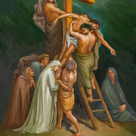 Death ( Mark 15:42-46 )