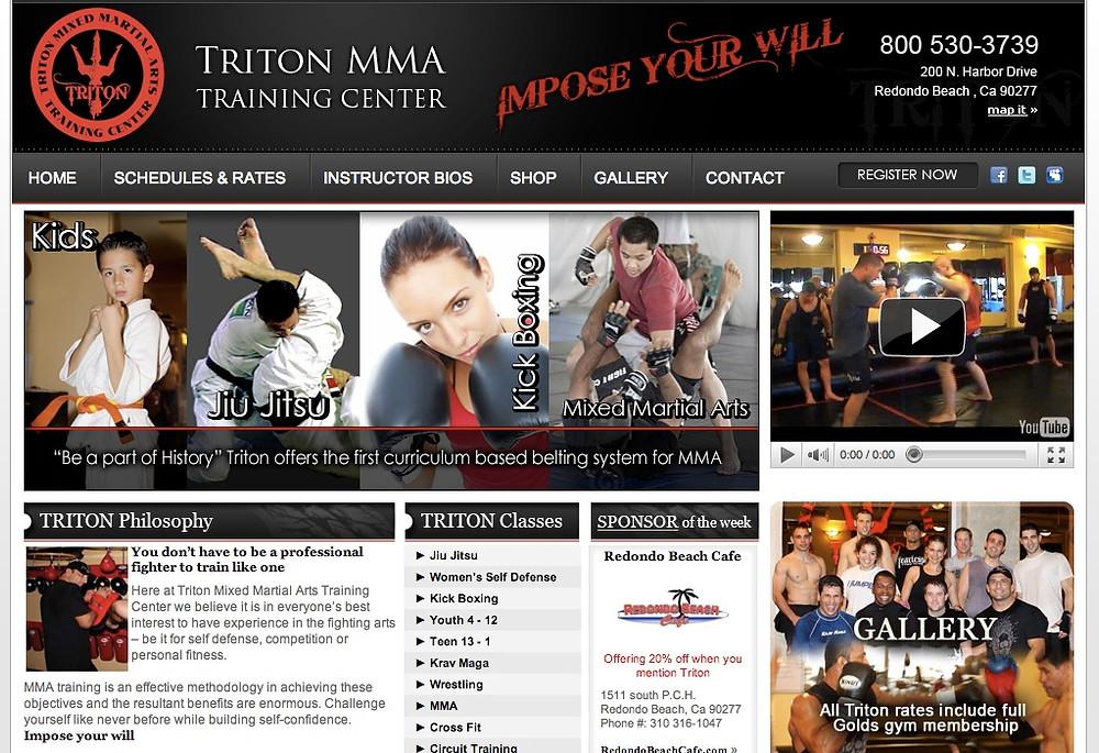 triton mma home page