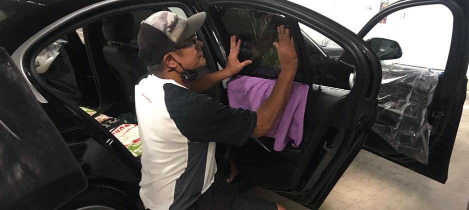 vehicle window film