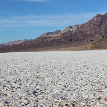 Salts Flats at Badwater Basin