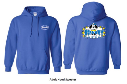 Adult Hooded Pullover Sweater ( Children and Adult Sizes )