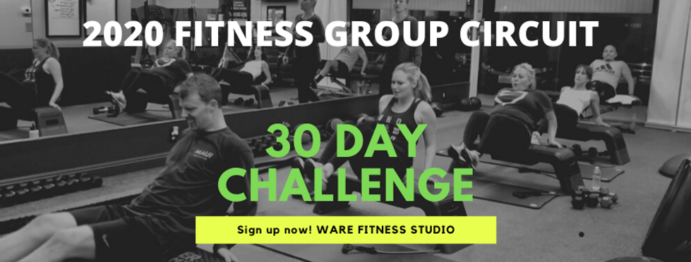 ware fitness group circuit classes 30 da
