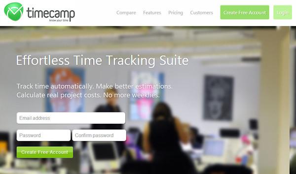 timecamp 18 Effective Time Management Tools