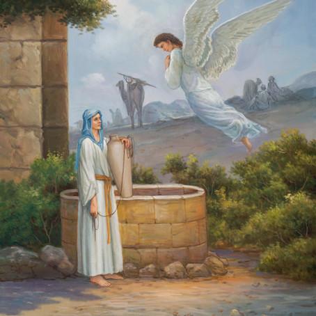 Mary ( Luke 1:30-35 )