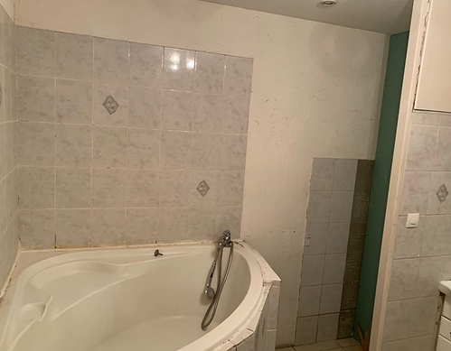 salle de bain Bourgoin - Avant