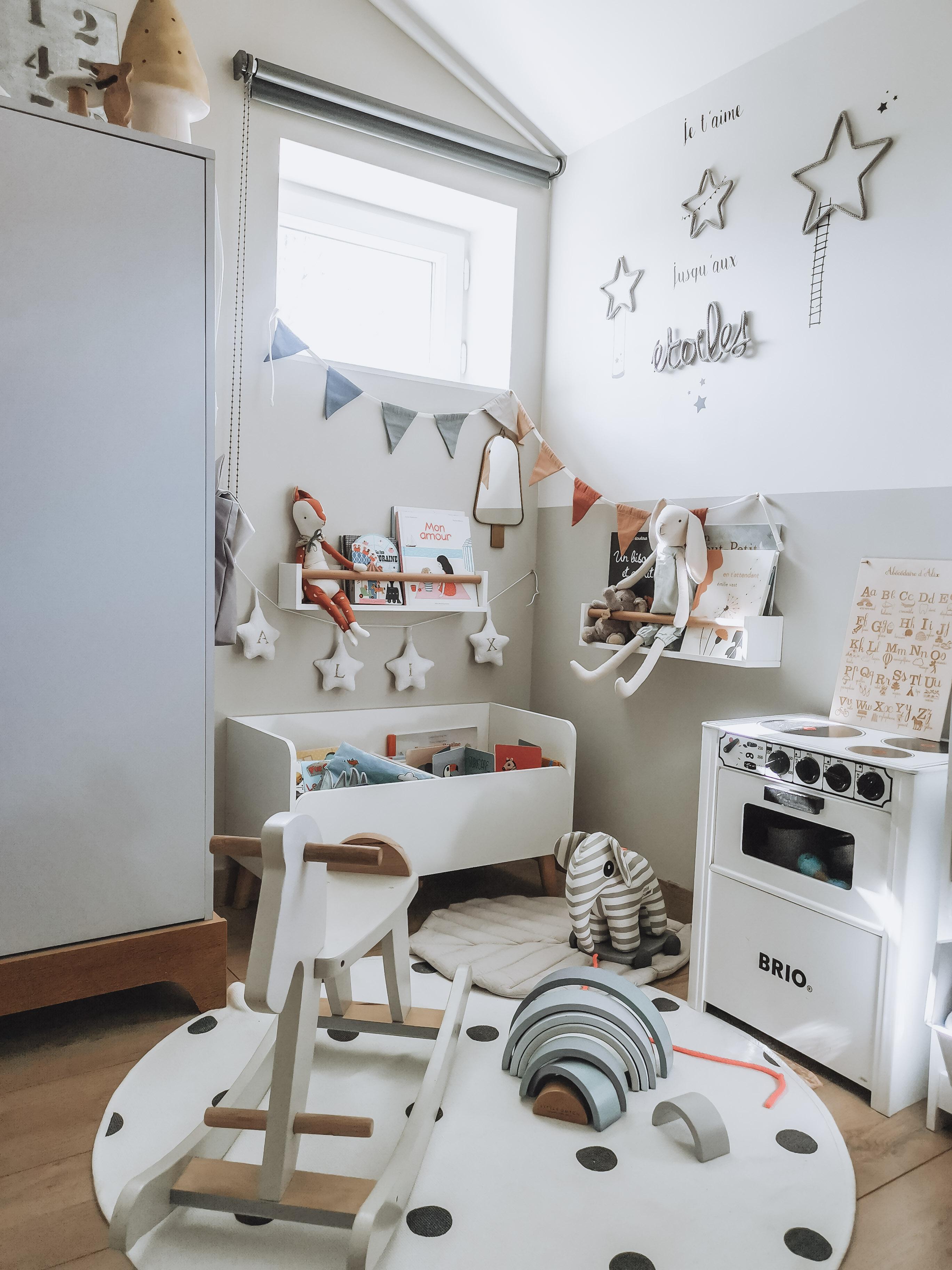 décoration chambre d'enfants bébé Nord Isère