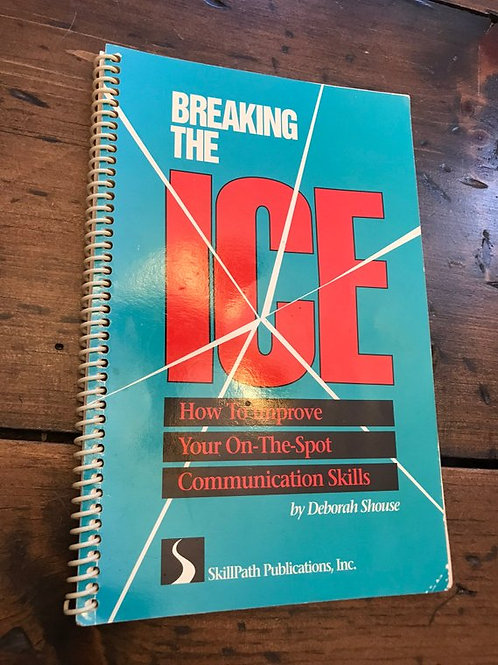 Breaking the Ice, Communication Skills, Self Help Book, Public Speaking,Ted Talk