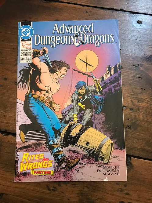 Dungeons and Dragons Comic Book, Rites and Wrongs Part 1, RPG, LARP