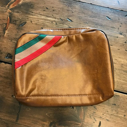 Vintage Toiletries Bag, Retro Travel Pouch, Gift for Guys, Deoderant Bag, Camp