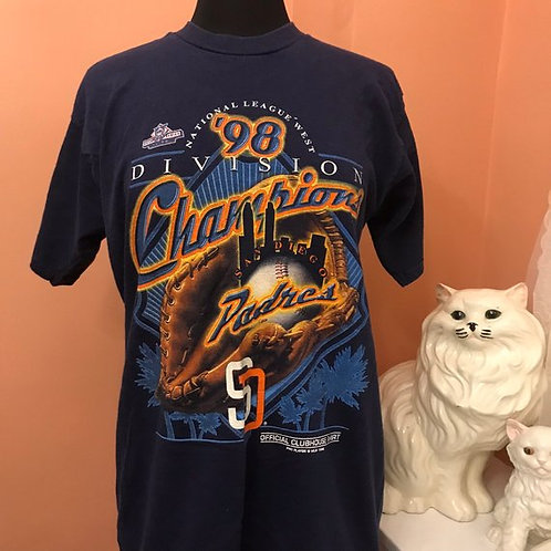 Vintage Tshirt, 90s T-Shirt, MLB, San Diego Padres, Vintage Padres
