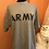 Thumbnail: Army Tshirt, Vintage Tshirt, USA Military Gray Tshirt, Army / Navy