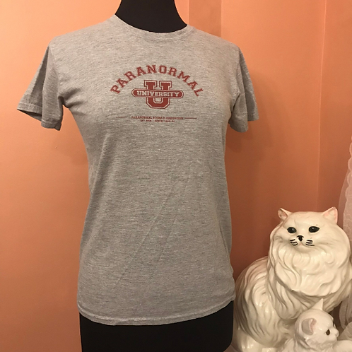 Paranormal University Tshirt, Paranormal Books and Curiosities of Asbury Park