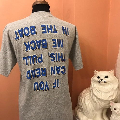 90s T-Shirt, Vintage Tshirt, Alex Bay, New York, Boating Shirt, Funny Slogan