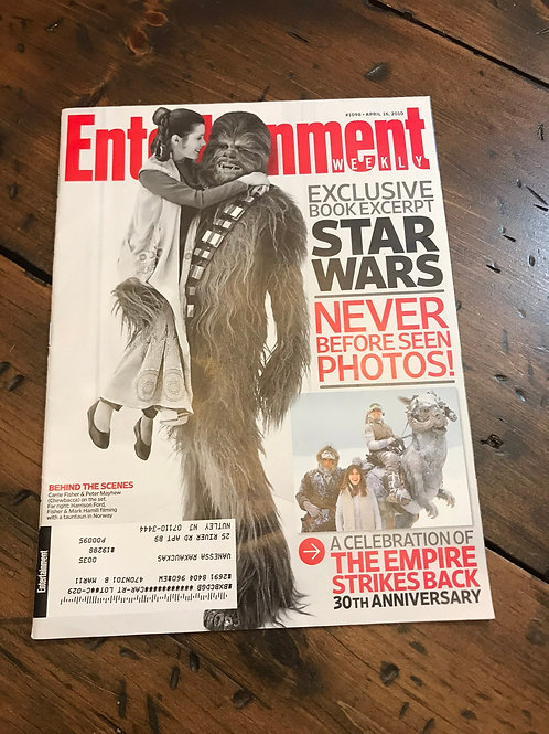 Star Wars, Entertainment Weekly, Empire Strikes Back 30th Anniversary, Chewbacca