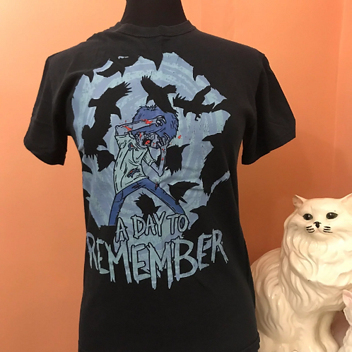 A Day to Remember Tshirt, Out to Get Me, Homesick, Crow, Black Bird Attack