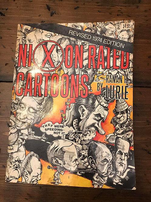 Richard Nixon Cartoons, Ronan R Lurie, Political Cartoons