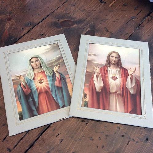 Vintage Print, Jesus Print, Religious Print, Religious Art, Lithographs, Jesus