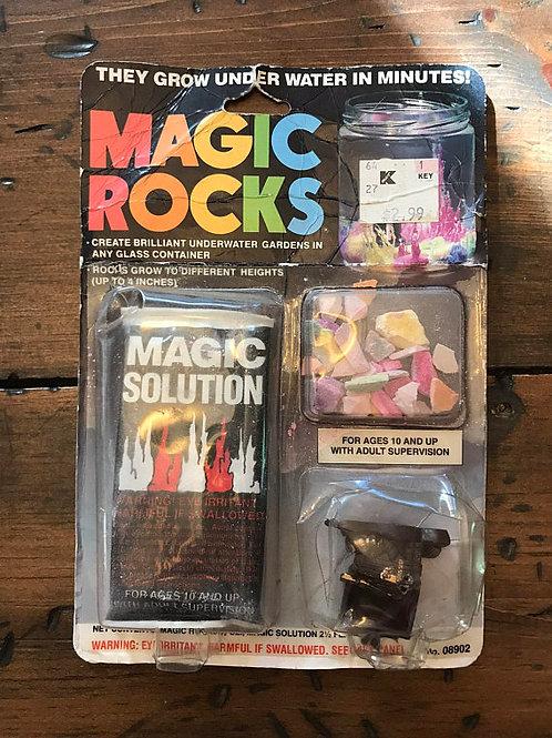Vintage Magic Rock, Rock Garden ScienceKit